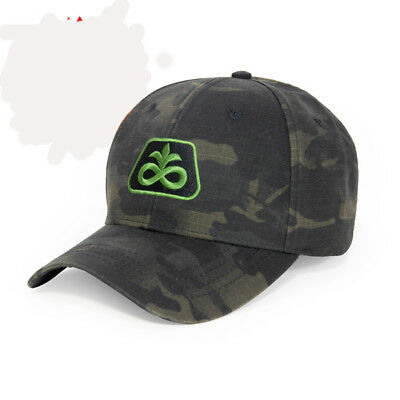 PIONEER SEED *BLACK MULTICAM TACTICAL* Trademark Logo CAP HAT *BRAND NEW* PS49