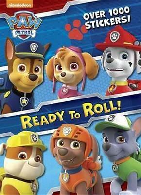 NEW Ready to Roll! (Paw Patrol) By Golden Books Paperback Free Shipping