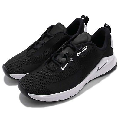 8776df984544 Wmns Nike Rivah Black White Women Running Shoes Sneakers Trainers AH6774-004