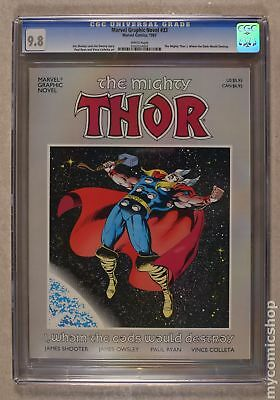 Thor I, Whom the Gods Would Destroy GN (Marvel) #1-1ST 1987 CGC 9.8 0502554003