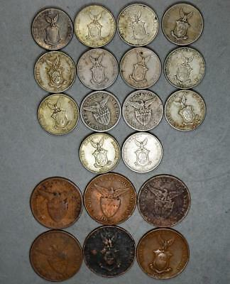 Philippines-US Admin 1 Centavo and 5 Centavos Lot of 20 Coins