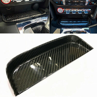 Fit Ford Mustang S550 GT 2015-2017 Change Coin Tray Box Real Carbon Fiber AU