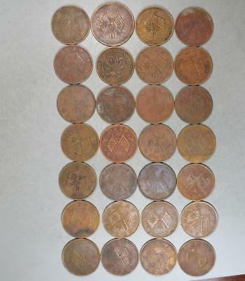 China Cash Lot of 28 Coins