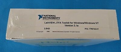 National Instruments LabVIEW JFTA Toolkit for Windows/Windows NT Version 3.1a
