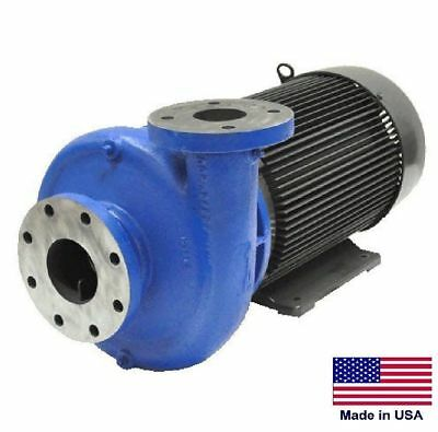 "STRAIGHT CENTRIFUGAL PUMP - 102,000 GPH - 30 Hp - 208-230/460V - 6"" In / 4"" Out"
