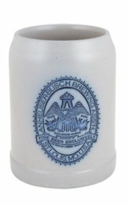 Anheuser Busch Collectible Salt Glaze 0.5 L Beer Stein #8580