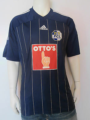 Adidas FC Luzern [ Size S M L XL] Football Jersey Blue New & Original Package