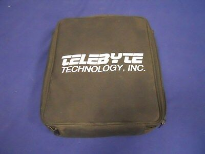 Telebyte PC Notebook Comscope Model 904 W/ Power Supply, Bag, Disks +