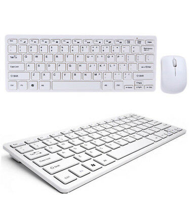 KIT MOUSE E TASTIERA WIRELESS 2.4GHz PER PC COMPUTER WIFI KEYBOARD SENZA FILI