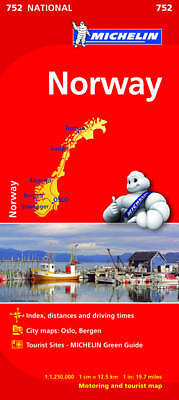 Norway Michelin Map