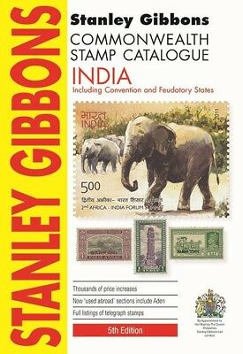 STANLEY GIBBONS COMMONWEALTH STAMP CATALOGUE - INDIA 5th Ed