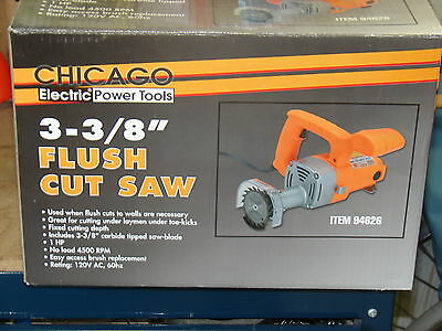 """Flush Cut Saw 3-3/8"""" Only Used 3 Times Make An Offer!!!"""