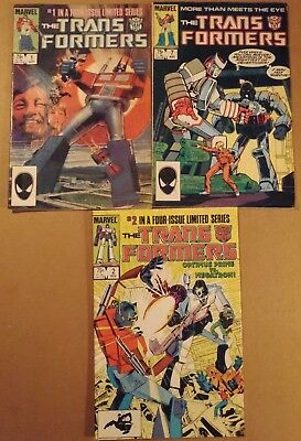 Transformers Limited Series #1, 2, G.I.JOE....lot of 12 Marvel + 1 other comics