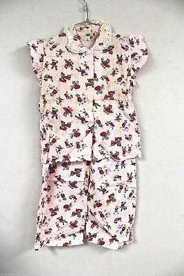VTG Girls Pajamas Nursery Rhymes Print NOS Maby's Store  Sz 8 Little Duchess