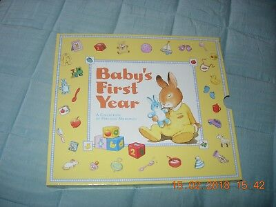 Baby's First Year Precious Memories Record Book