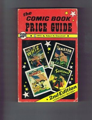 Overstreet Comic Book Price Guide #2 (VG-) 1972; 2nd Edition (c#17478)