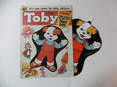 'Toby' Comic No.1, January 1976, with Free Gift.