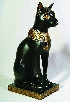 Ancient Egyptian  Legendary Goddess Bastet Cat Ubasti Figurine Statue 12 inches!