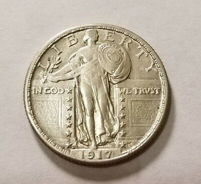 1917 S Type 2 Standing Liberty Quarter #8