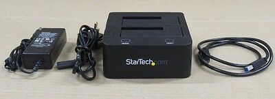 StarTech.com SATDOCK2U3GB to SATA Dual Hard Drive Docking Station