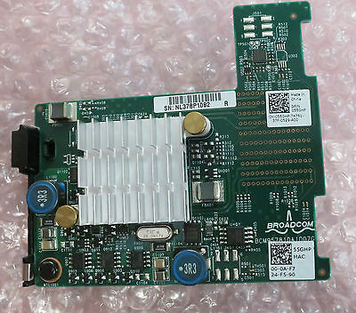 Dell Broadcom 57810S Dual Port 10Gb BASE-T Server Adapter for Blade pn 55GHP