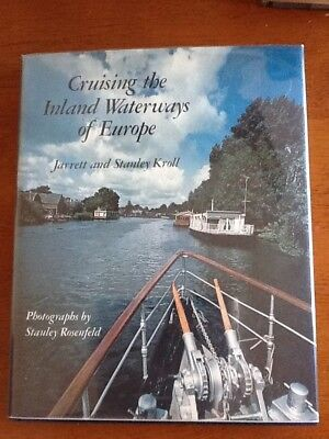 1979 SIGNED 1st Ed. CRUISING THE INLAND WATERWAYS OF EUROPE w/DJ
