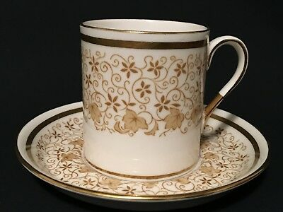 Royal Tuscan Coffee Cup & Saucer Fine Bone China Duo Cabinet Espresso Can ( 5 )