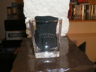 Jack Daniels Whiskey Glass Gentleman Jack With Square Base