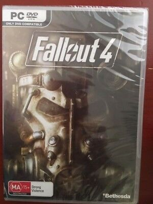 FALLOUT 4 PC GAME - BNIP - Windows 7/8/10 - Rated MA15+ due to strong violence