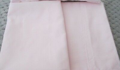 Sheet set & Pillow suitable for Dolls Bed ,Cradle , Cot , Pram Pink or White