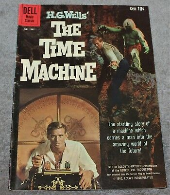 Vintage The Time Machine 1081 Dell Comic Book 1960