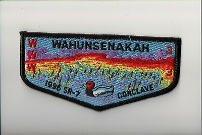 Lodge 333 Wahunsenakah S-3 1996 SR-7 Conclave OA flap