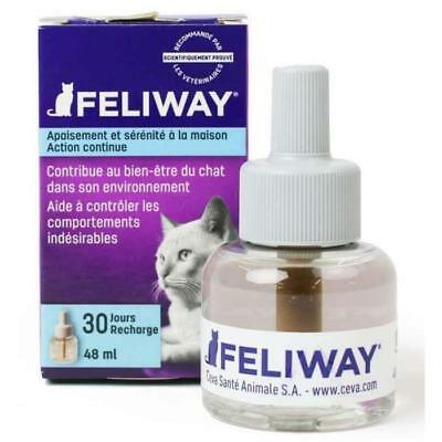 FELIWAY Recharge anti-stress 48 ml - 30 jours - Pour chat