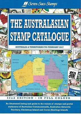 2017 32nd Edition The Australasian Stamp Catalogue Seven Seas Stamps Brand New