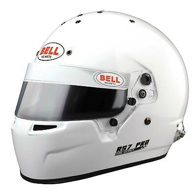 Bell Motorsport / Race / Rally RS7 Pro FIA & Snell Approved Helmet - White