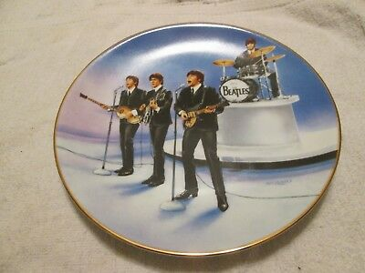 Delphi Bradford Exchange The Beatles Live In Concert Plate With Box
