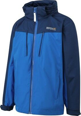 Regatta Irondale Junior Waterproof Jacket - Blue