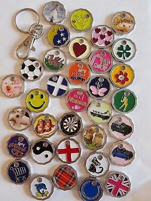 1 Shopping Trolley Coin Trollies New £1 Coin Keyring Locker Token Trolly Keyring