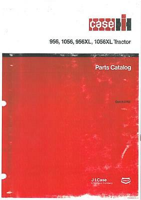 Case Ih Tractor 956 1056 & 956Xl 1056Xl Parts Manual