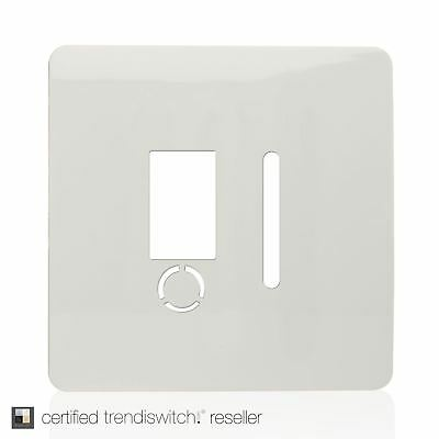 Trendi SPARE FACEPLATE For Artistic Modern Fused Spur Switch White ART-FSWH-SP