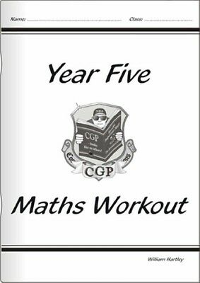 KS2 Maths Workout Book - Year 5 (Paperback), Hartley, William, 97...