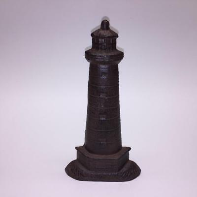 Vintage Rustic Finished Nautical Ship Lighthouse Cast Iron Door Stop