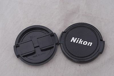 Two Nikon 52mm Front Lens Caps in Excellent Condition