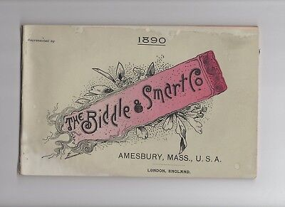 1890Biddle and Smart Co Horse Drawn Carriages and Buggies Catalog