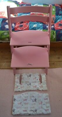 Stokke Tripp Trapp high chair with cushion set
