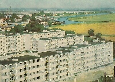 Postcard - Jelgava / New Houses on the Banks of the Driksa