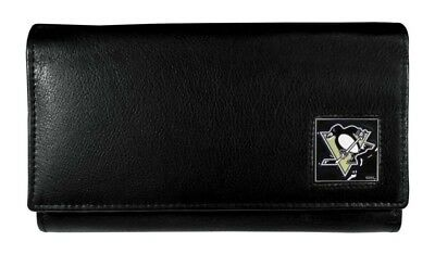 Pittsburgh Penguins NHL Women's Leather Wallet