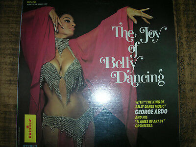 LP neu OVP . ORIENT arabischer Bauchtanz ARABIC BELLY DANCE ABDO Flames of Araby