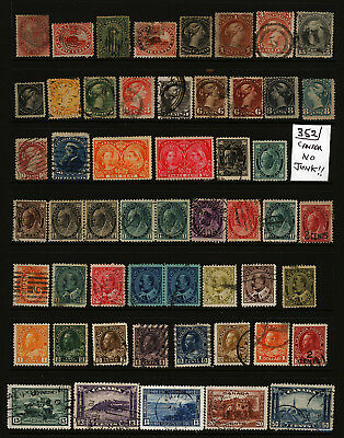 Canada OLD COLLECTION LOT HIgh CV