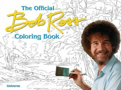Official Bob Ross Coloring Book, Ross, Bob, 9780789327727
